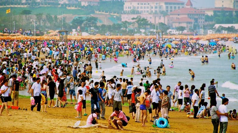 Xinghai Beach in China