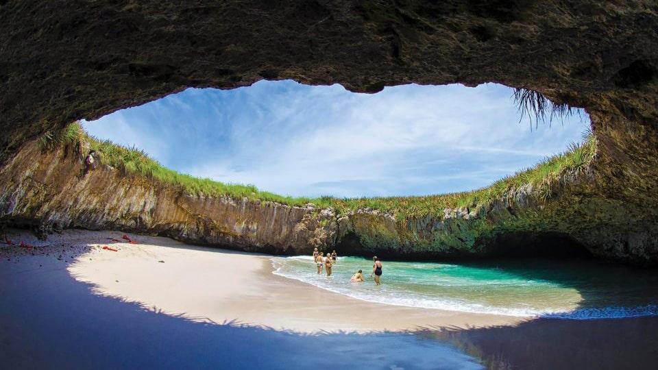 Playa Del Amor in Mexico